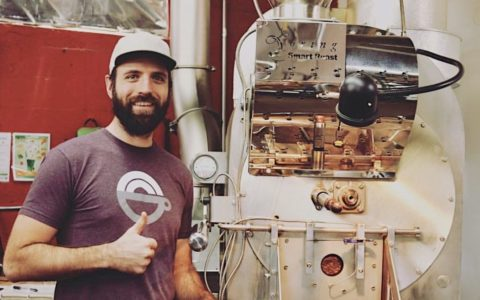 Rob Hoos in front of his Loring