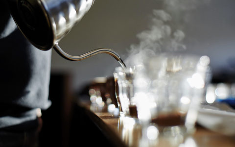 header image - pouring